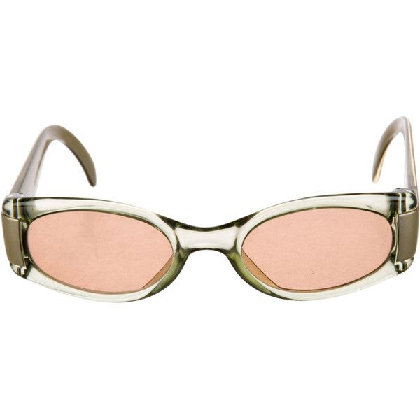 CHRISTIAN DIOR 90s Futuristic Sci Fi Minimal Clear Lucite Vintage... ($29) ❤ liked on Polyvore featuring accessories, eyewear, sunglasses, glasses, futuristic glasses, sports sunglasses, pink glasses, acrylic glasses and vintage eyewear