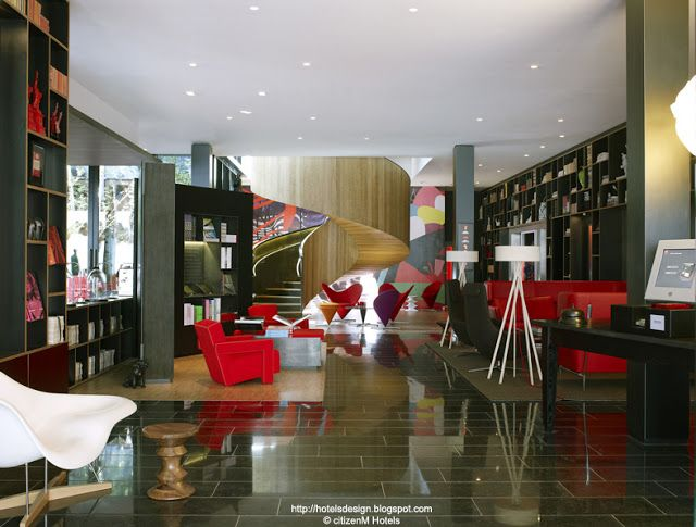 citizenM London Bankside_Les plus beaux HOTELS DESIGN du monde - design hotel citizenm london