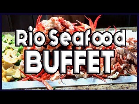 rio las vegas seafood buffet full tour youtube vegas buffet at rh pinterest de