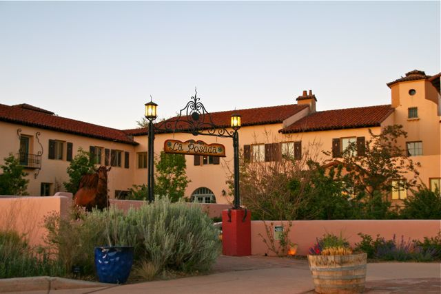 La Posada Hotel Was Built In 1929 By The Santa Fe Railroad
