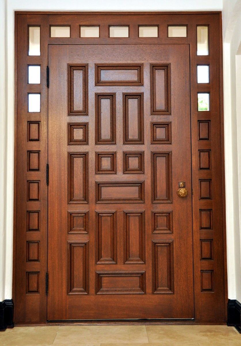 fantastic wood entrance door