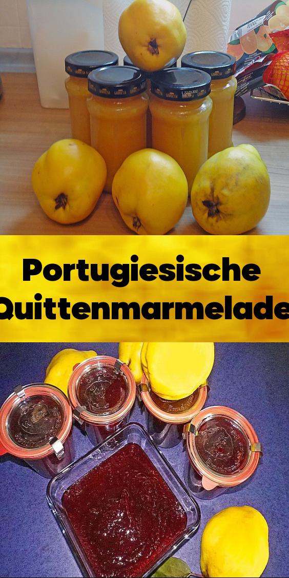 Portugiesische Quittenmarmelade Marmelada De Marmelo Die Marmelade In Portugal Schlechthin In 2020 Quitten Marmelade Quittenmarmelade Marmelade