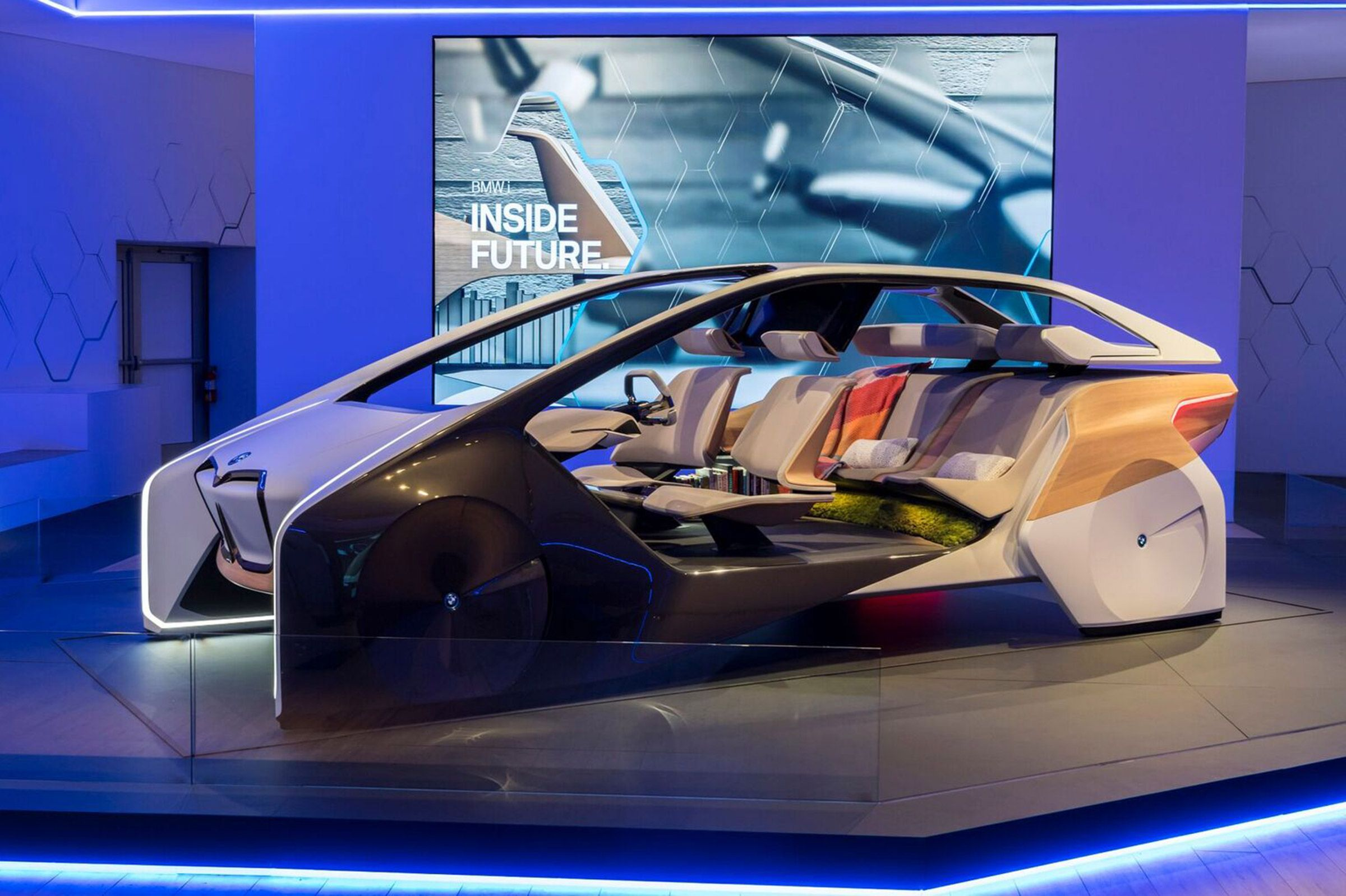 BMW Future Inside CES 2017 Pinterest