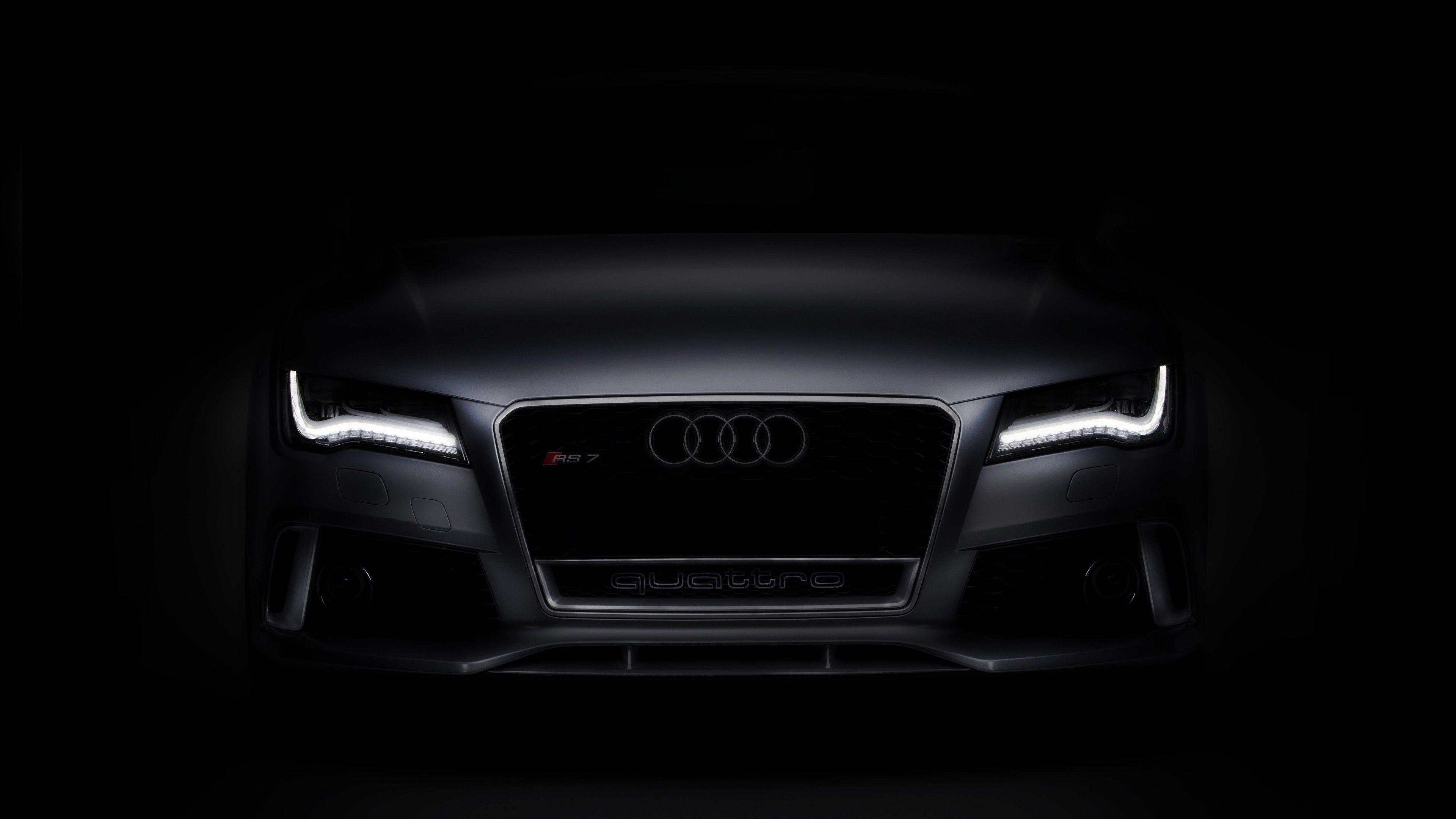 Audi Rs7 4k Wallpaper Audi Rs7 Sportback Audi Rs7 Black Car