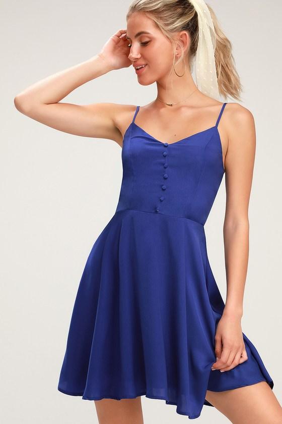 27+ Blue skater dress info