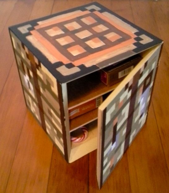 Minecraft Crafting Table Box Crafting Table Minecraft Craft Table Table