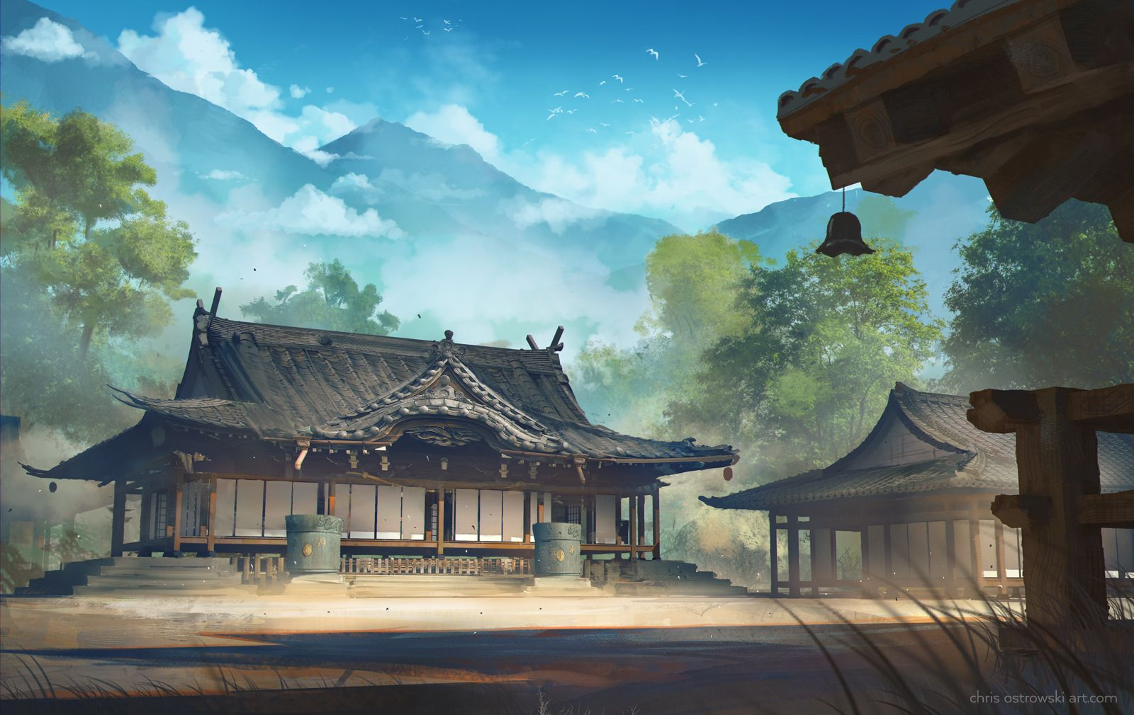 Heisha by najtkriss Japanese Chinese Asian temple