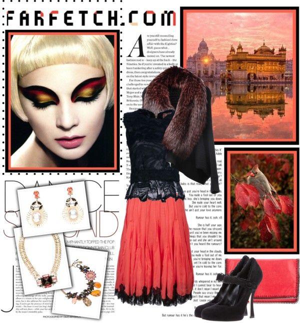 """farfetch.com winter wishlist!"" by designsbytraci on Polyvore"