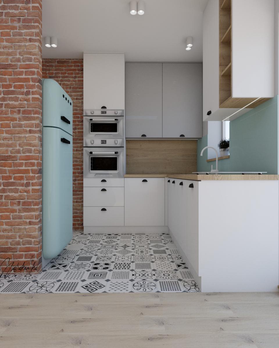 Cegla Drewno I Pastelowe Kolory To Moje Ulubione Polaczenie Kuchnie Nabakdesign Architekturawnetrz Wnetrza Interiordesigne Design Kitchen Home Decor