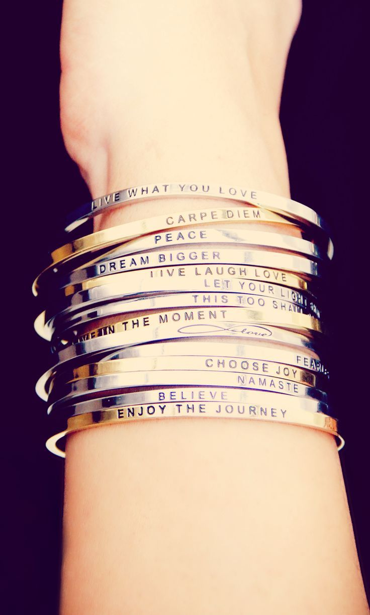ce60fae6364 What's YOUR Mantra? – Win $125 worth of prizes from Mantraband ...