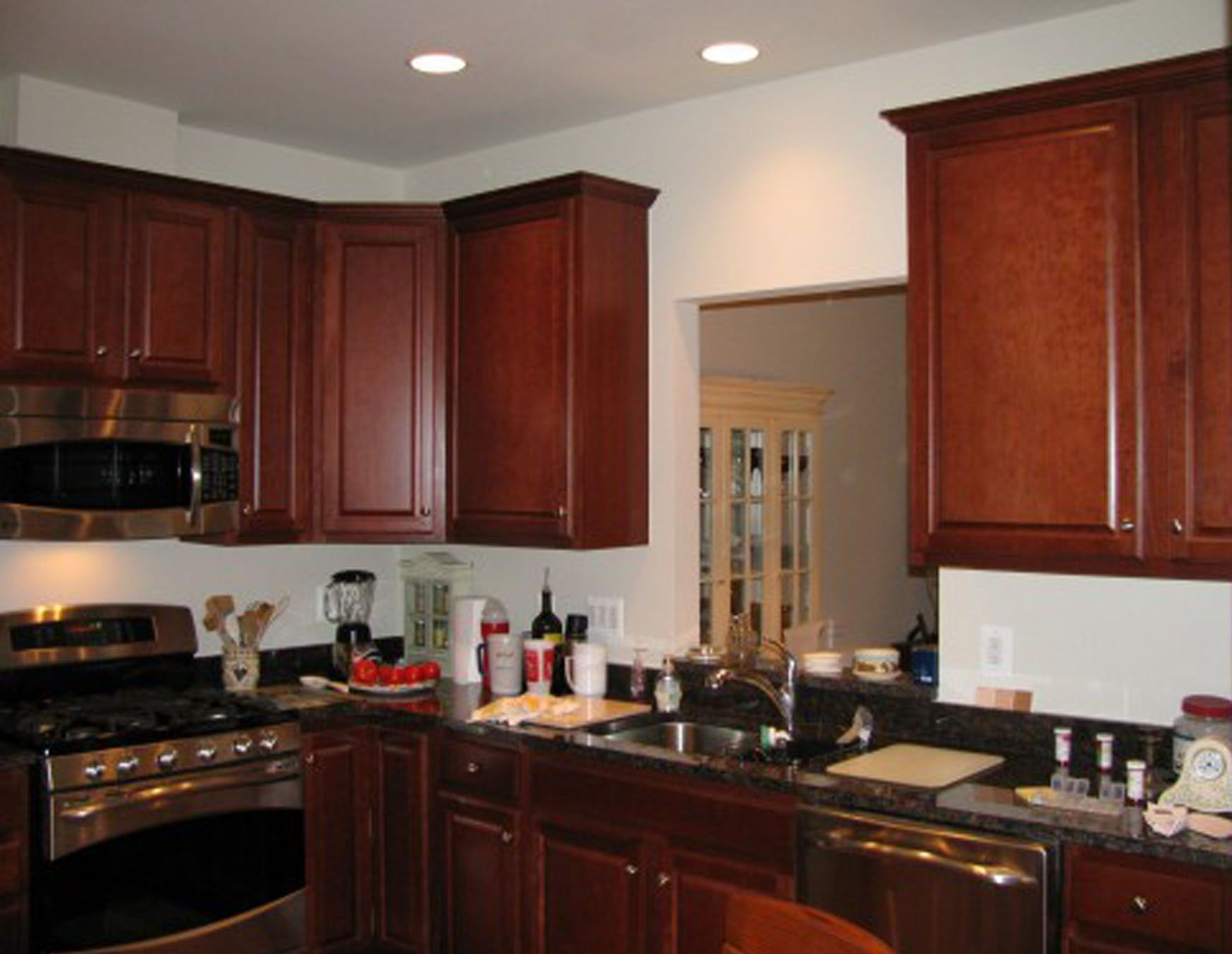 kitchen colors with dark brown cabinets wainscoting kitchens