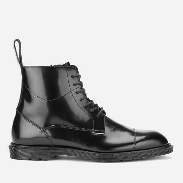 Mens Winchester Polished Smooth Boots, Black Dr. Martens