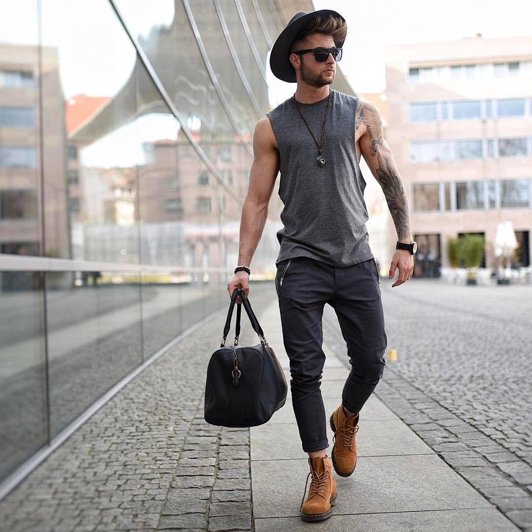 pin von zanyoddsoul auf men outfits pinterest m nnermode m nner h te und sommer shorts. Black Bedroom Furniture Sets. Home Design Ideas