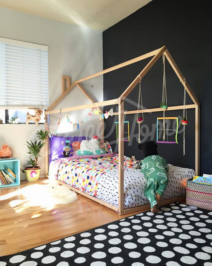 Kids rooms Toddler bed house bed tent