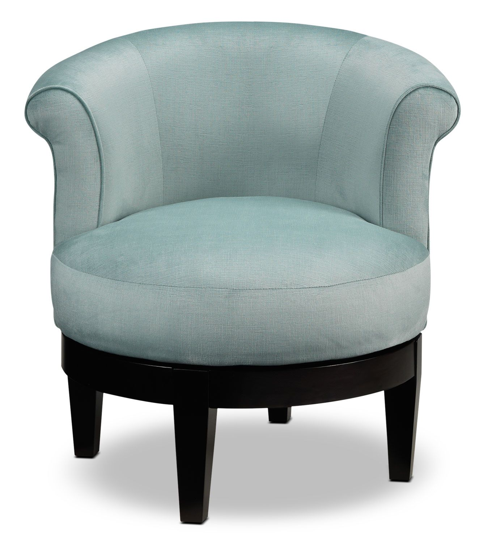 Best Attica Swivel Accent Chair Aqua Swivel Accent Chair 400 x 300