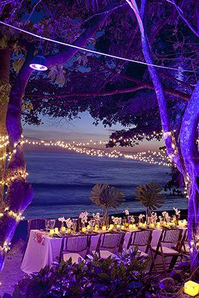 Costa Rica Wedding Reception Beach Ideas In Design By