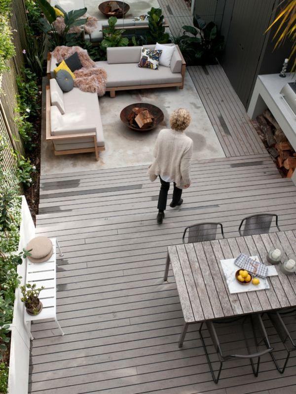 Comment faire une terrasse en bois sur un petite espace Cosas para