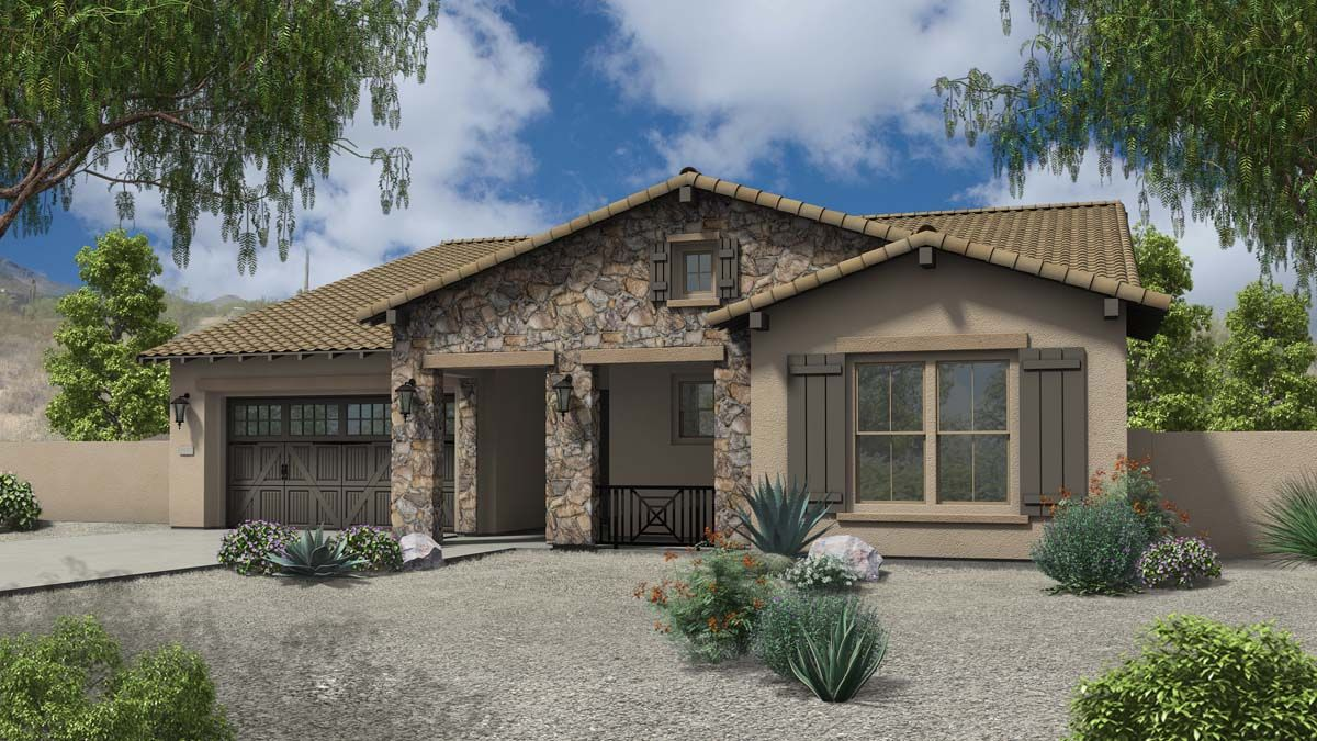 Agave Home Plan at Legacy at The