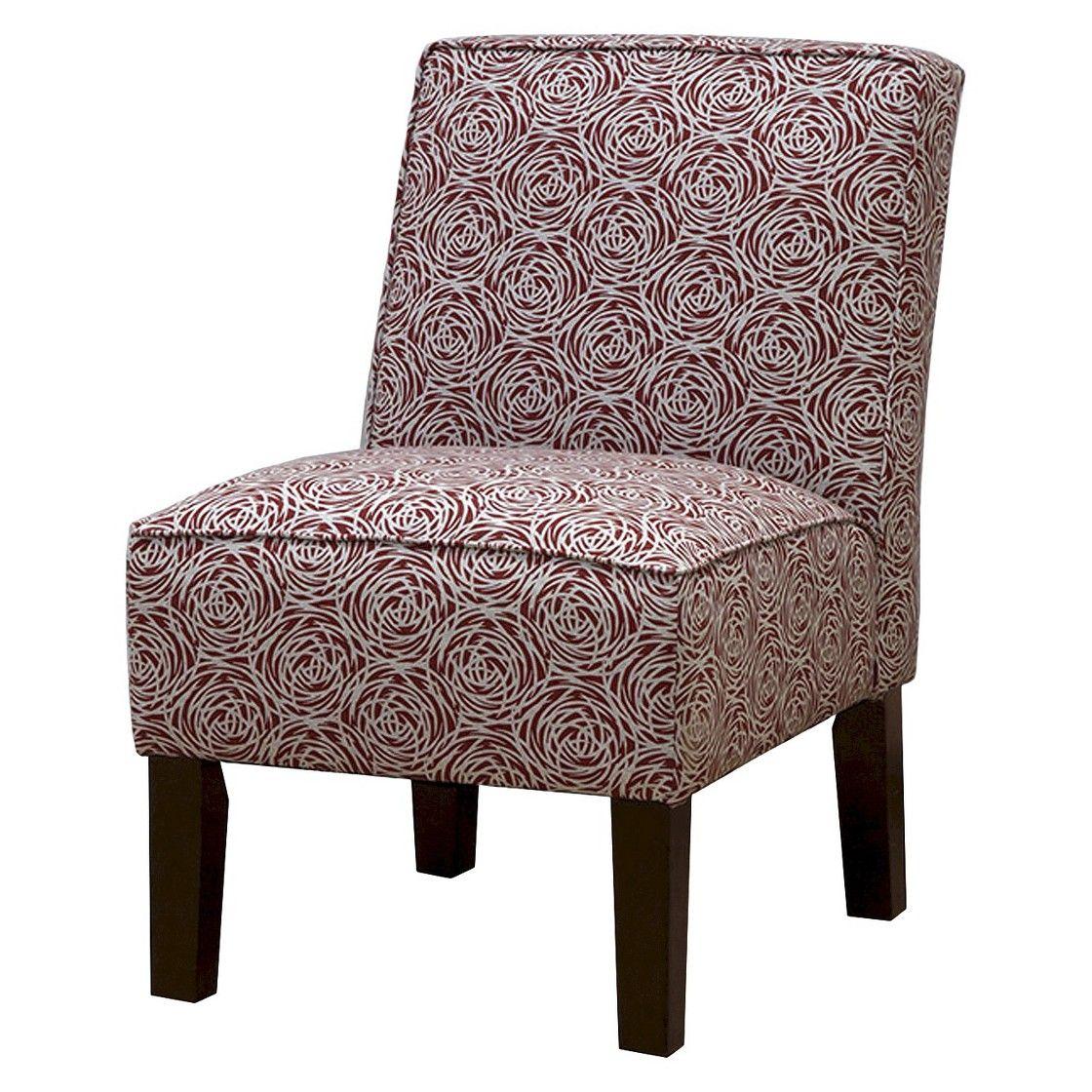 Burke Slipper Chair Prints Chair, Swivel recliner