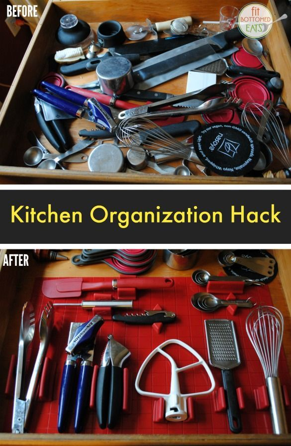 This kitchen organization system will change your drawers ...