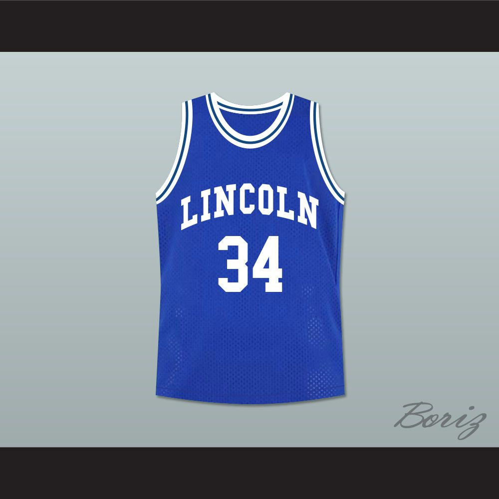 Jesus Shuttlesworth Jersey Movie He Got Game 34 Lincoln  Ray Allen Basketball
