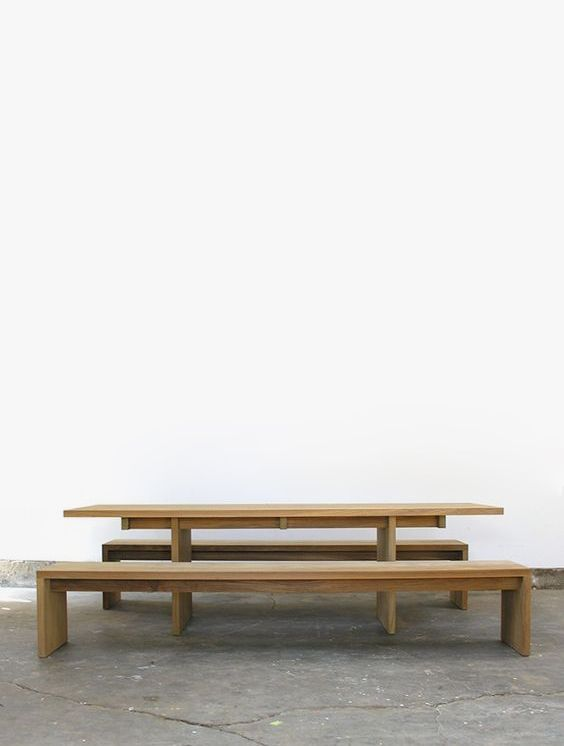John Pawson Tables From Matin In Los Angeles John Pawson