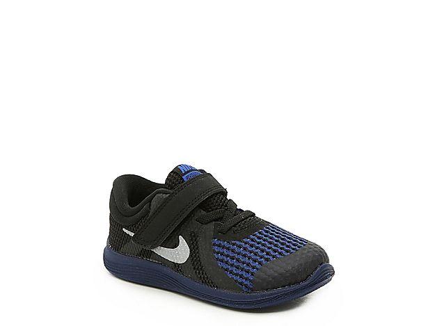 Boys Revolution 4 Toddler Running Shoe Black Navy Kids Running Shoes Black Running Shoes Shoes
