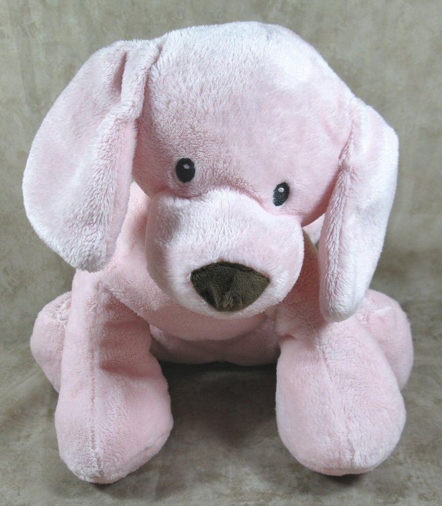 Gund Baby G Plush 14 Pink Puppy Dog Stuffed Animal Lovey Toy