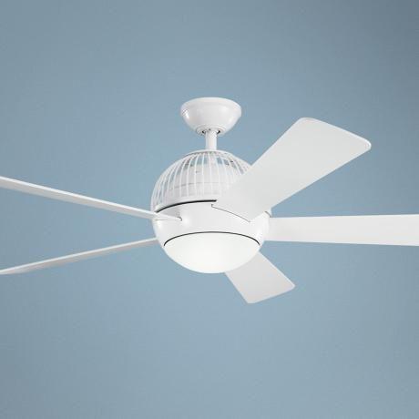 52 kichler botella white ceiling fan lampsplus com golf clubs rh pinterest com