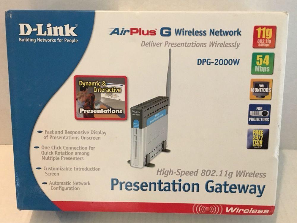 D-Link DPG-2000W Windows 7