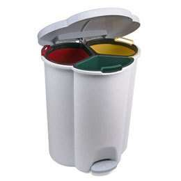 Trio Step On Recycling Bin | My Home | Pinterest | Trash Bins And .