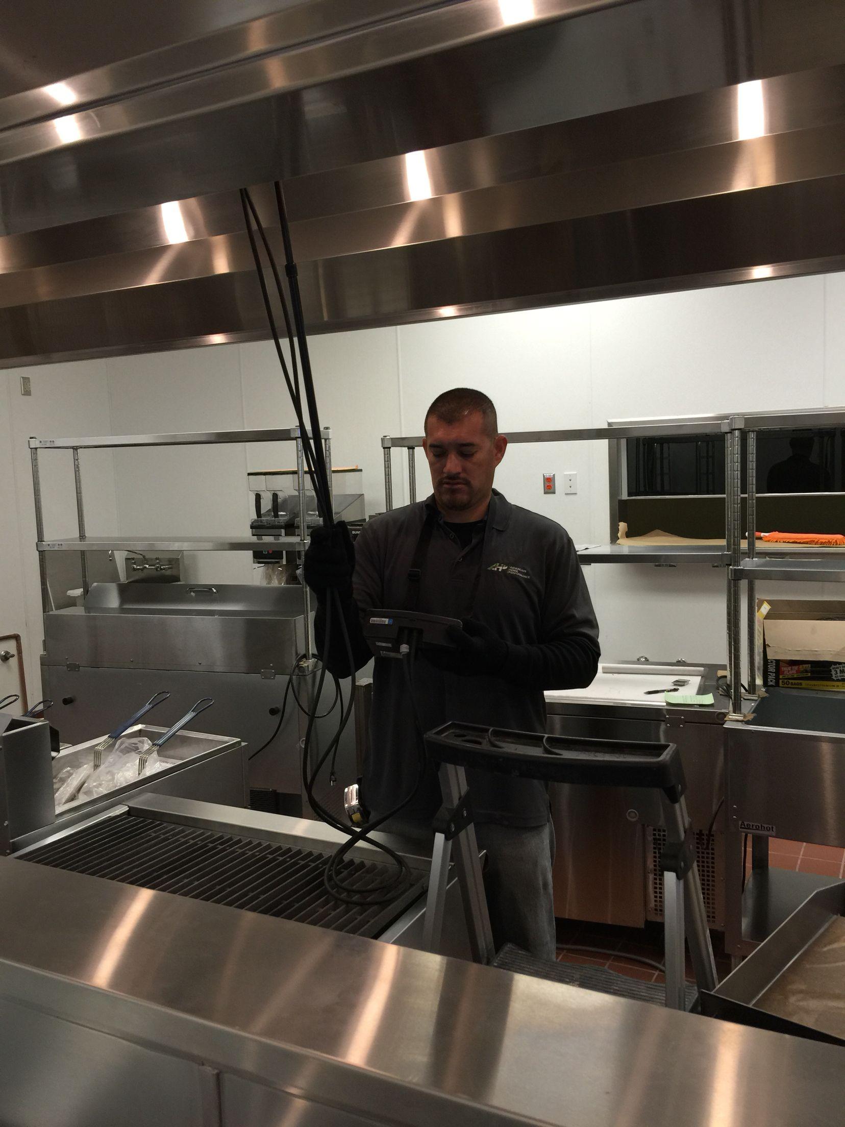Testing & Balancing a Kitchen Exhaust Hood AHP Testing