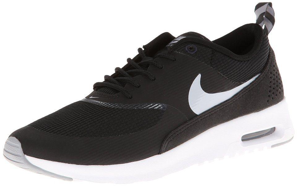 Nike Air Max Thea, Damen Sneakers, Schwarz (Black Wolf  Grey-Anthracite-White), 39 EU (5.5 Damen UK) 0defcf6a39