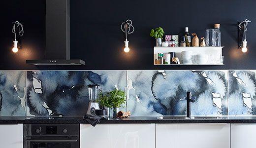 Ikea Keuken Wandpanelen Ikea Kitchen Ikea Lysekil