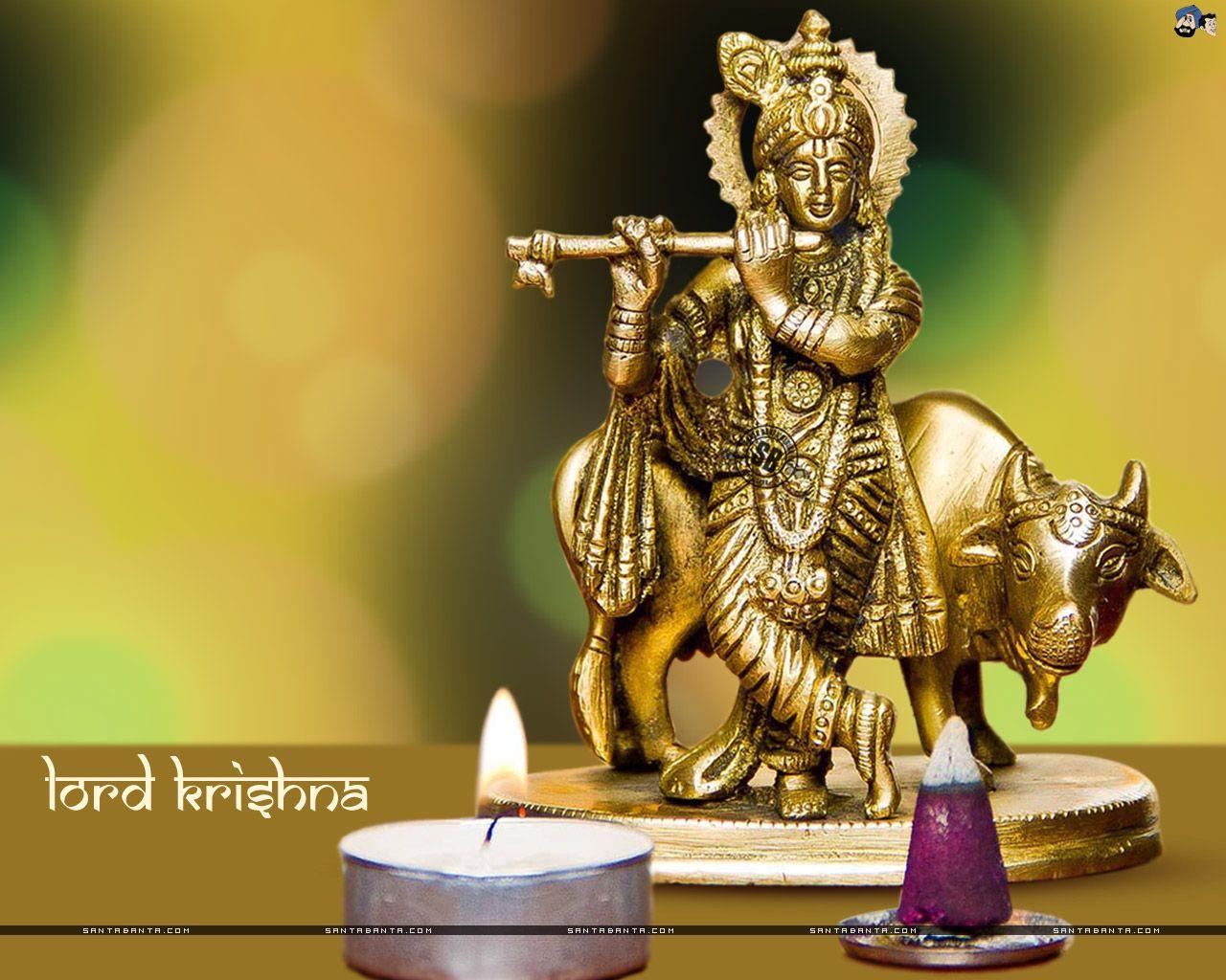 Wallpaper download janmashtami - Santabanta Krishna Janmashtami Wallpapers Free Download