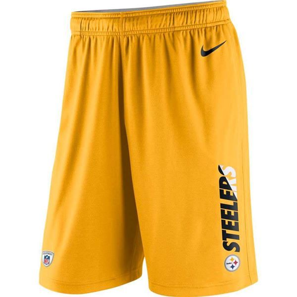 3038ab3f Picture of Pittsburgh Steelers Nike Fly XL 3.0 Gold Shorts | Steeler ...