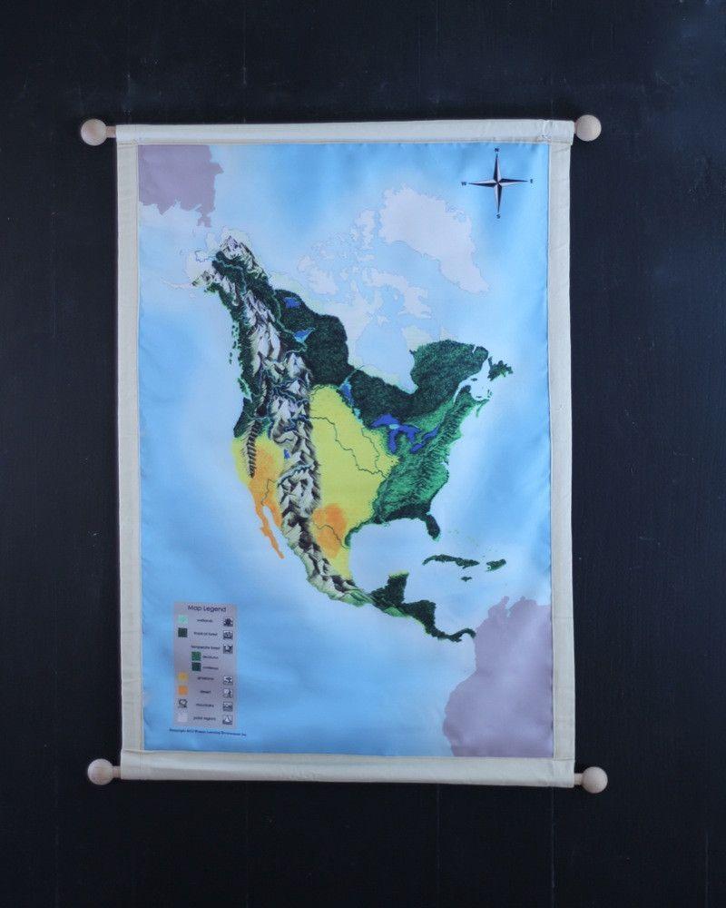 North America Biome Mat North America Biome