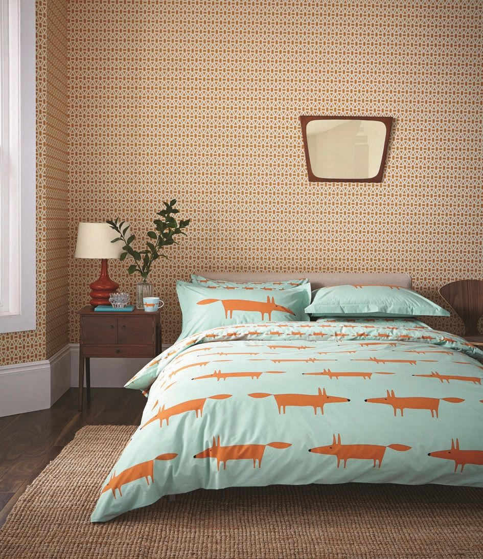 House Lovely Mr Fox bedding by Scion