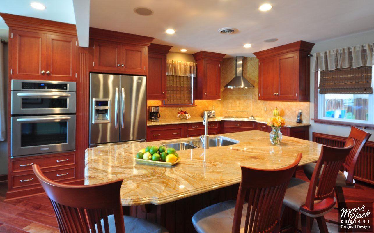 Kitchen Design  Kitchen Ideas  Kitchen Remodeling  Morris Black Impressive Cherry Kitchen Design Review