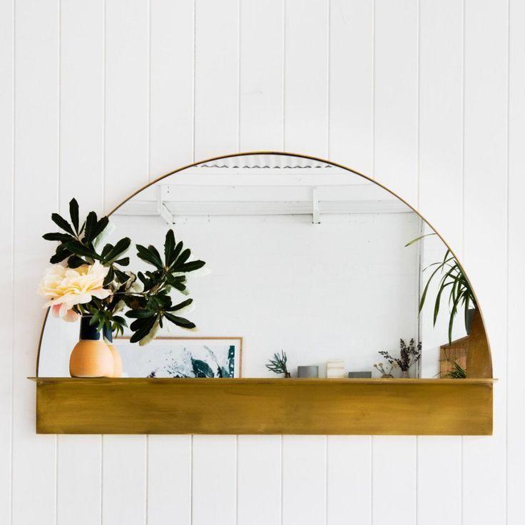 half circle mirror home decor and accessories in 2019 home decor rh pinterest com