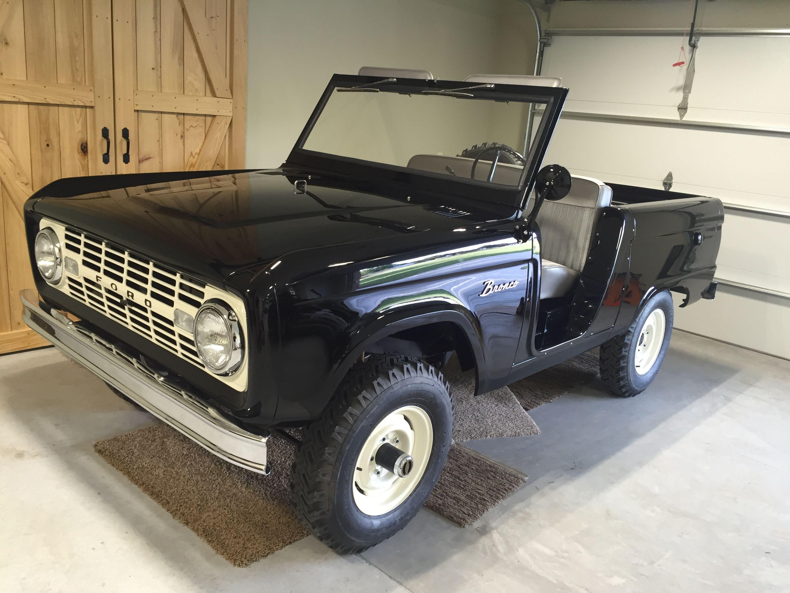 1966 bronco u13 raven black august 1965 build classic broncoblack truckearly broncoford broncomuscle carsvintage