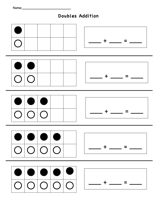 Doubles Addition.pdf - Google Drive   Doubles addition [ 1240 x 958 Pixel ]