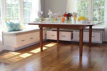 built in kitchen seating design | built in kitchen benches | Breakfast Built-in ... | Kitchen / Dining