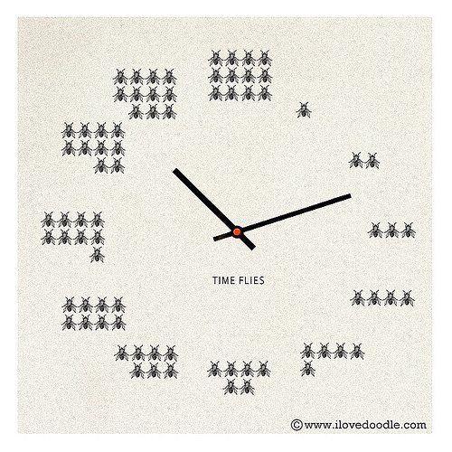 time flies clock creative designs ingenious ideas pinterest rh za pinterest com