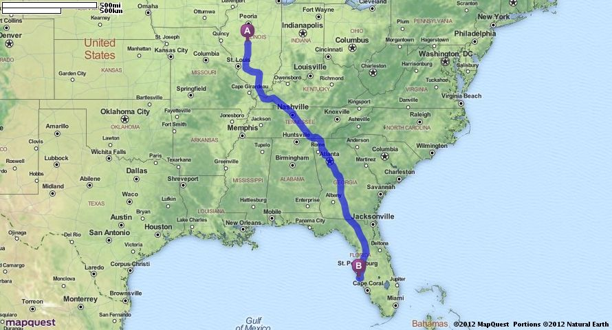 Driving directions from springfield illinois to sarasota