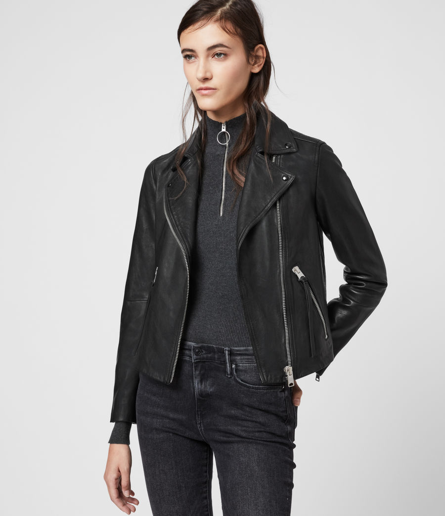 Dalby Leather Biker Jacket in 2020 Leather jackets women