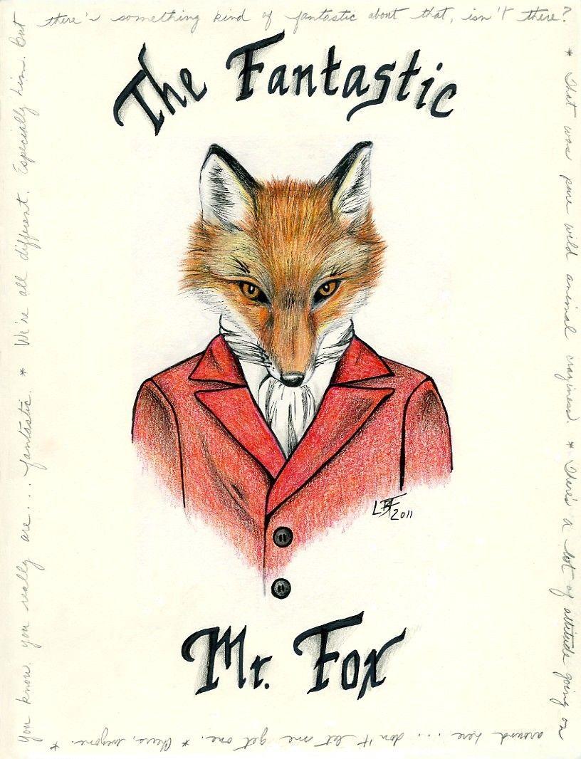 The Fantastic Mr Fox Fox Art Fantastic Mr Fox Vintage Fox
