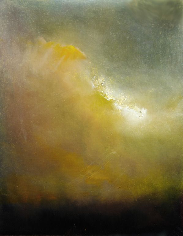 "Saatchi Online Artist: Maurice Sapiro; Oil 2013 Painting ""Evening Cloud"""