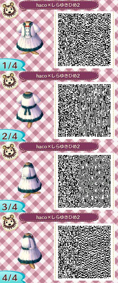 Pin By Neko On Ac New Leaf Clothes Animal Crossing Qr