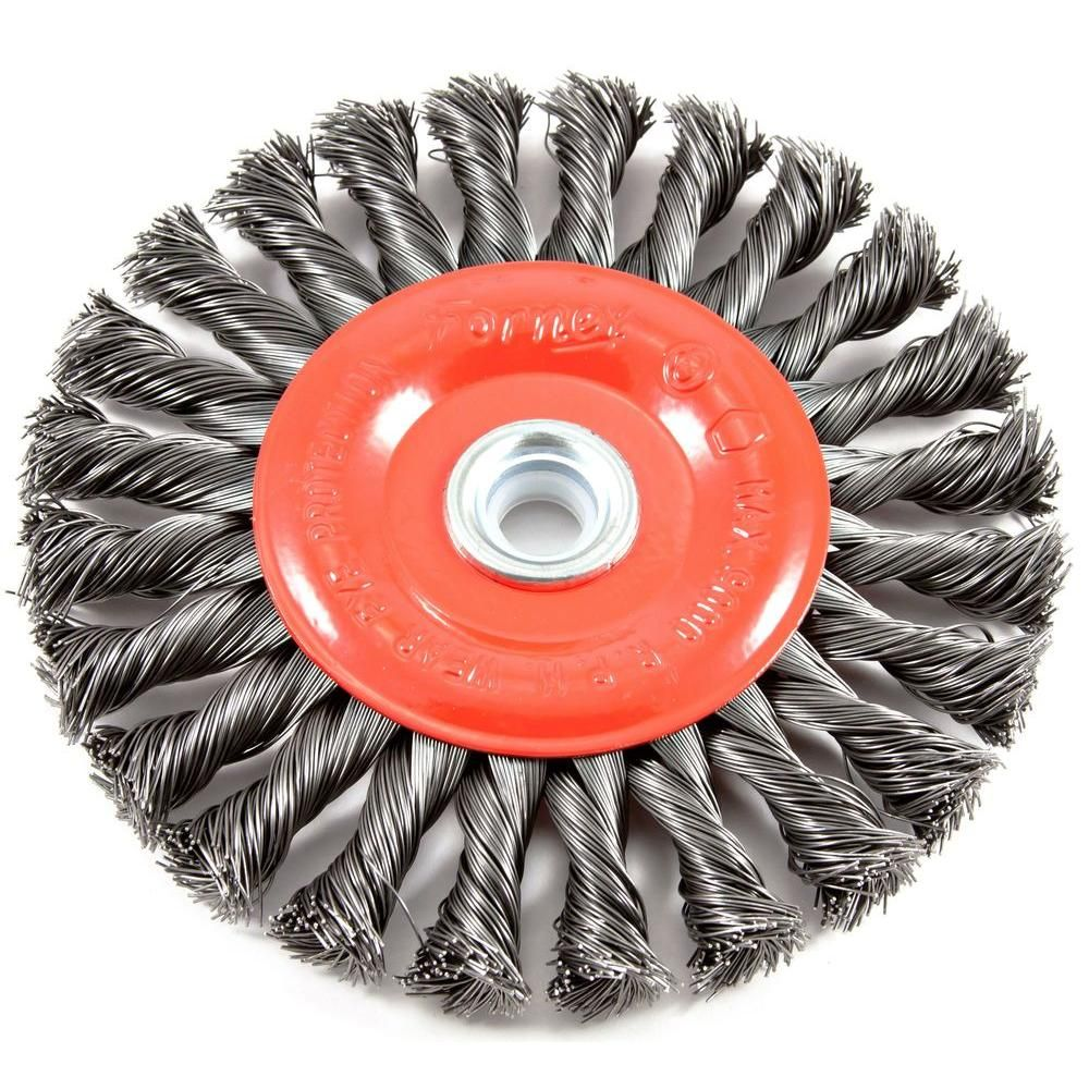 Fine Crimped with 1//4-Inch Hex Shank 1-1//2-Inch Forney 72726 Wire Wheel Brush